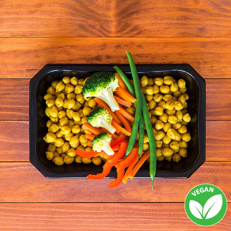 Indian Chicpeas salad